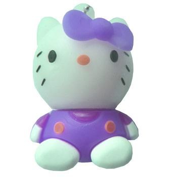 "флешка DinoD ""Hello Kitty"" + держатель колпачка"