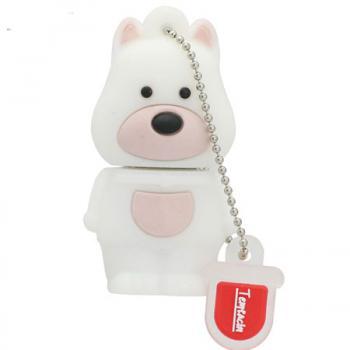 флешка Белый Пёс  MemoryKing