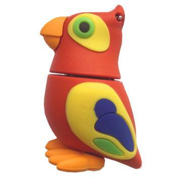 флешка  MemoryKing Попугай