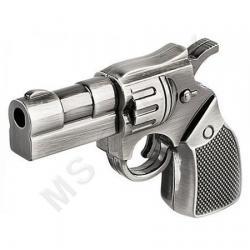 флешка MemoryKing  Револьвер металлический