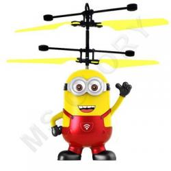 Летающий миньон (с датчиком, качественный, зарядка от USB шнур в комплекте)