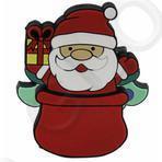 "флешка новогодняя ""Санта Клаус в мешке"""