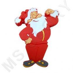 флешка новогодняя дед Мороз спортсмен